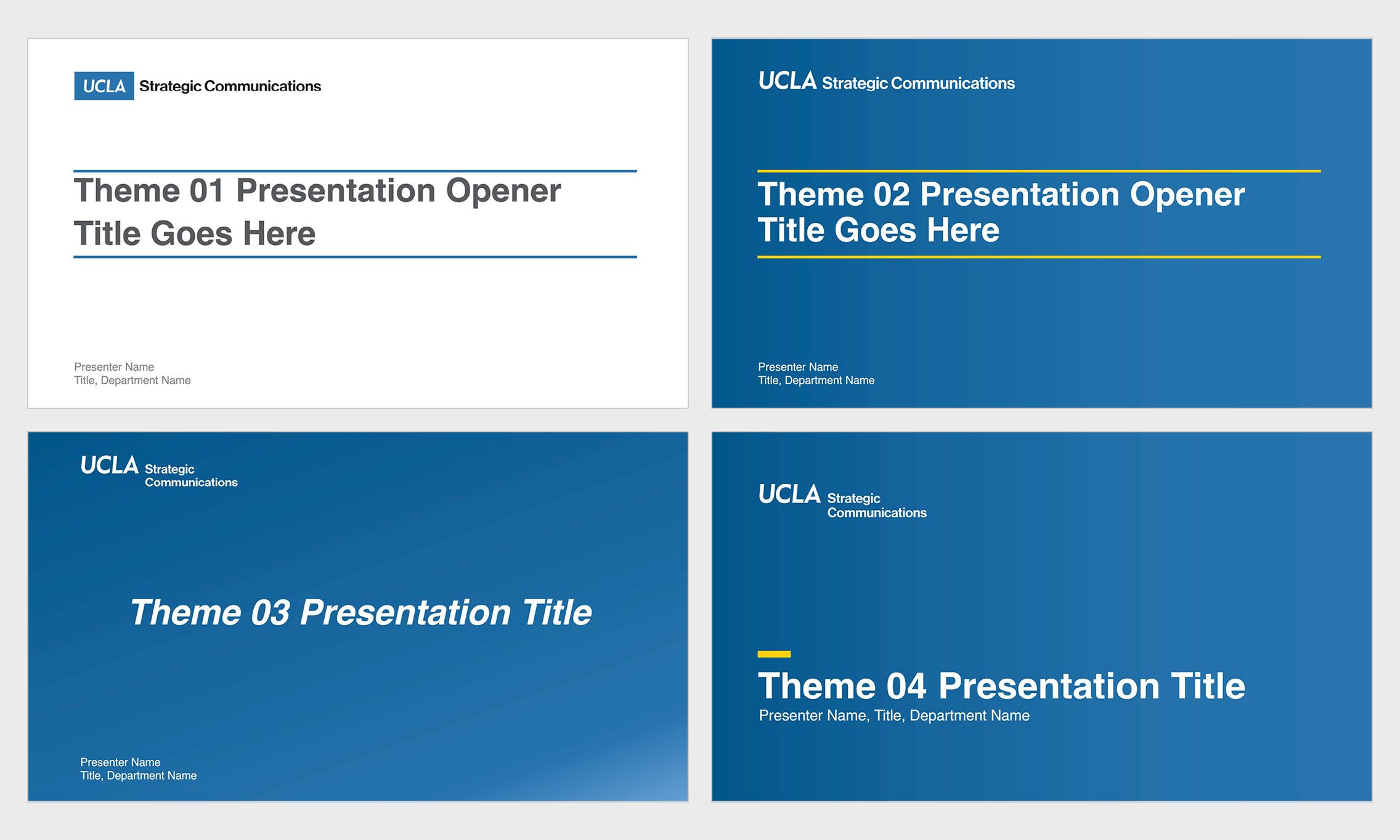 Brand Guidelines applikasjonPresentasjoner applikasjon Presentations